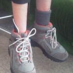 Orthès ereleveur de pied dynamique InnovPulse dnas une chaussure d'enfant