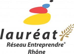 Logo lauréat Réseau Entreprendre Rhône
