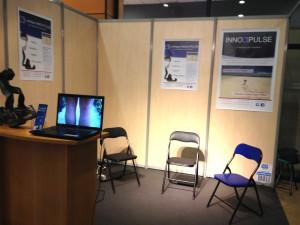 Stand InnovPulse au Salon professionnel des orthoprothésistes ISPO 2014